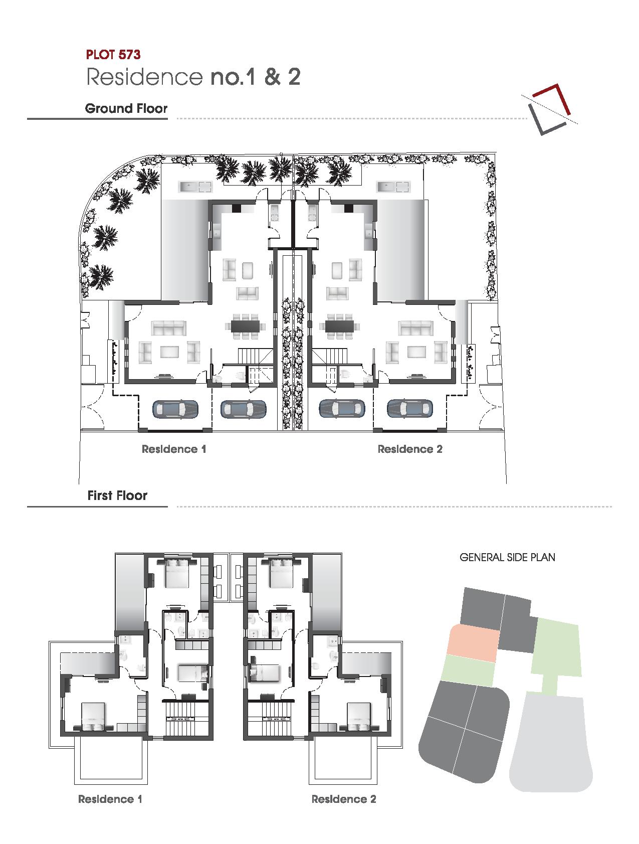 Floor Plans Plot 573